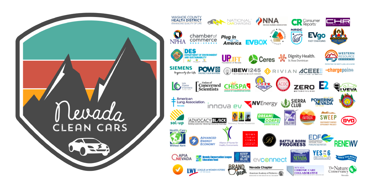 Nevada Clean Cars coalition letter thanks Governor Sisolak for taking action