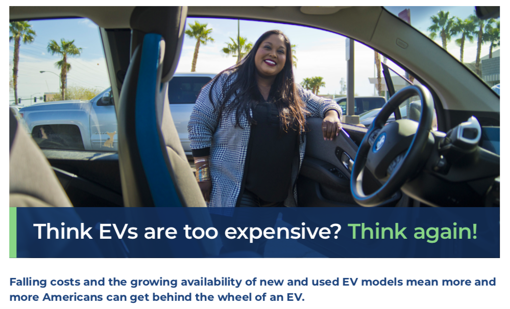 Fact Sheet: The Affordability of EVs